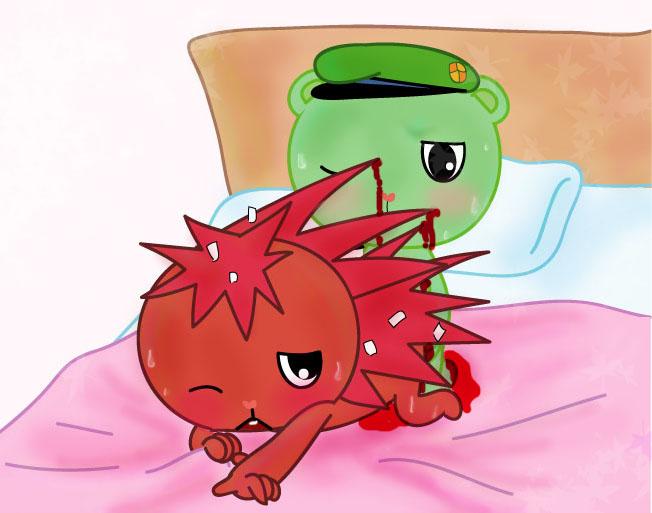 flippy happy and friends tree flaky Pokemon sun and moon vore