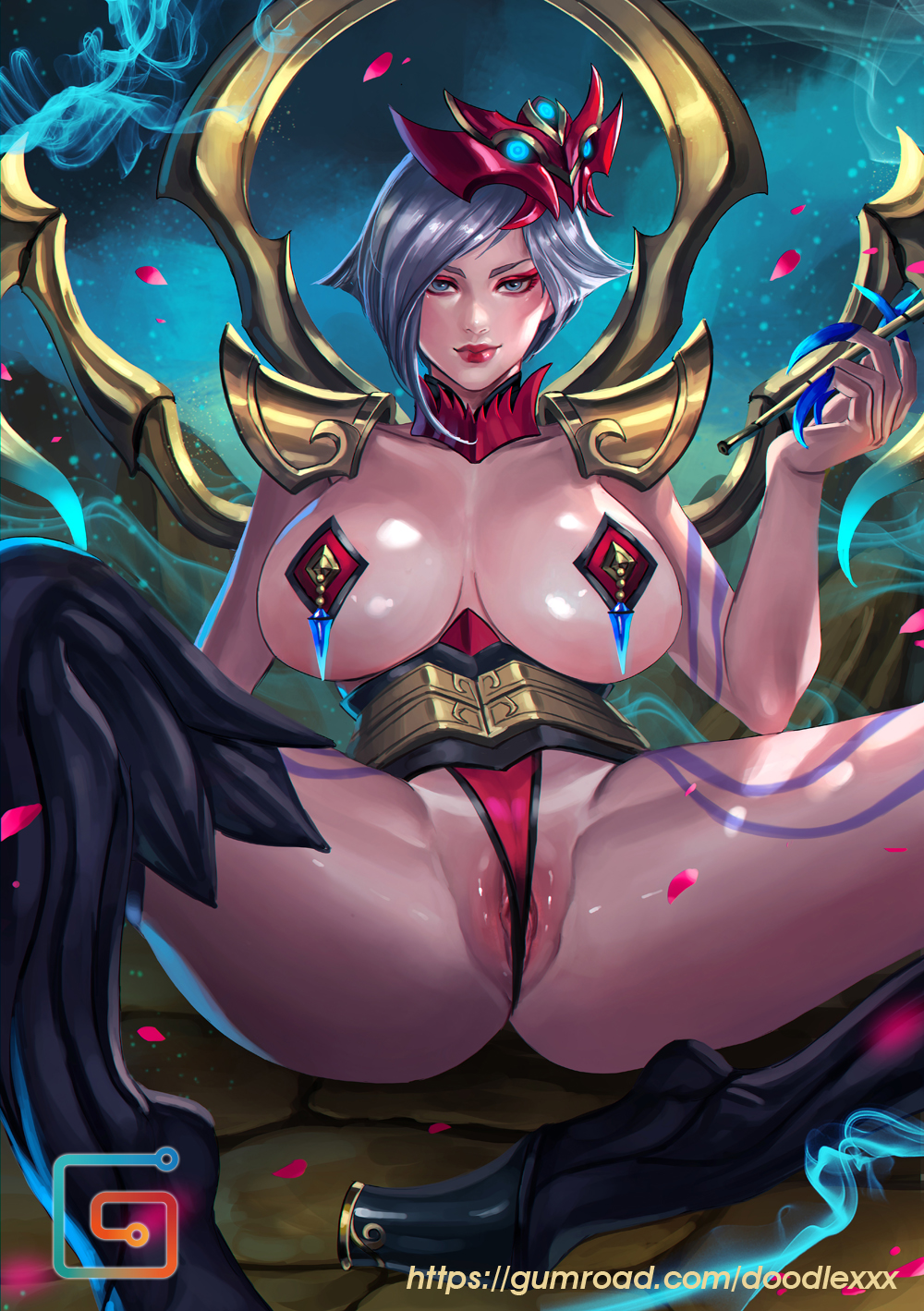 moon akali in game blood Agarest generations of war 2 uncensor