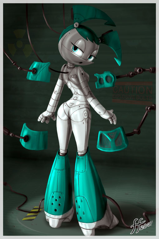 robot jenny as my a life One punch man sonic girl