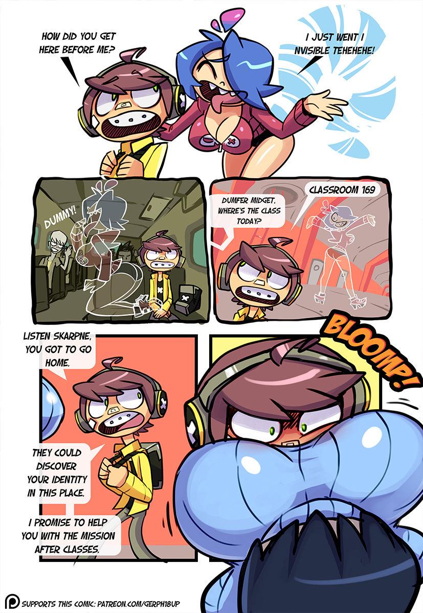 bus magic school cartoon porn Mako from kill la kill