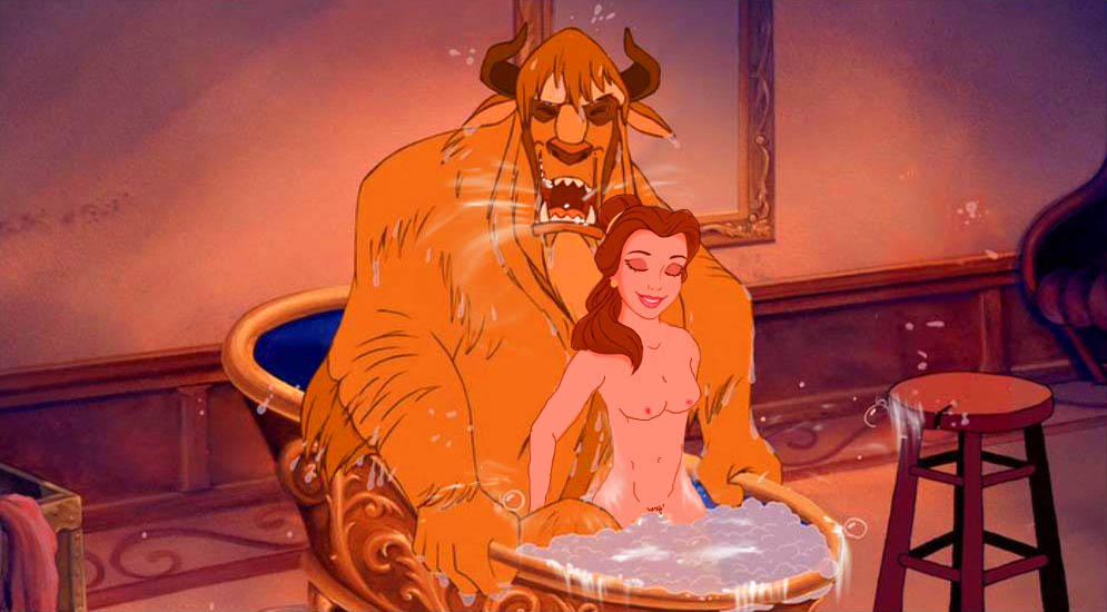 beauty the nude belle and beast How often do guys fap