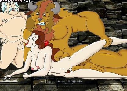 beauty rape the beast and Yo-kai watch jibanyan