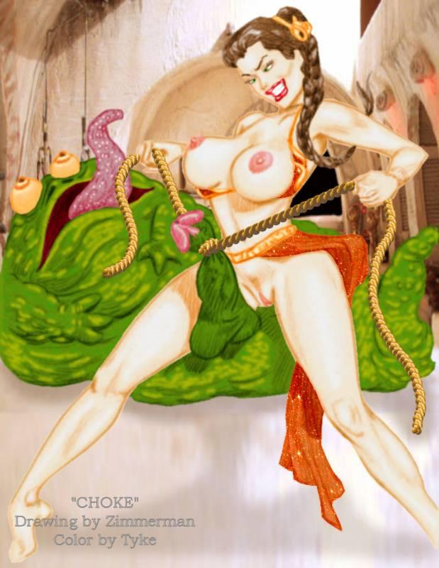 the hutt slave girls jabba Yoake mae yori ruri iro na crescent love