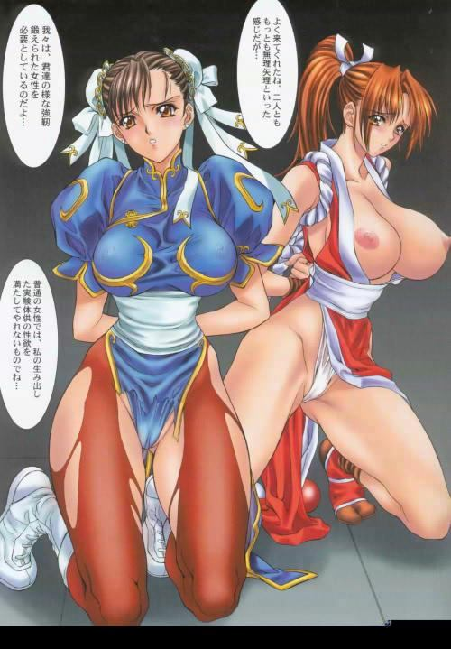 li chun and shiranui mai Mina my hero academia fanart