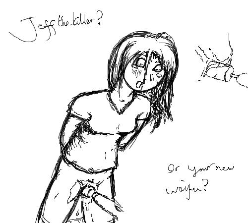 jeff the x killer jane Maji de watashi ni koi shinasai