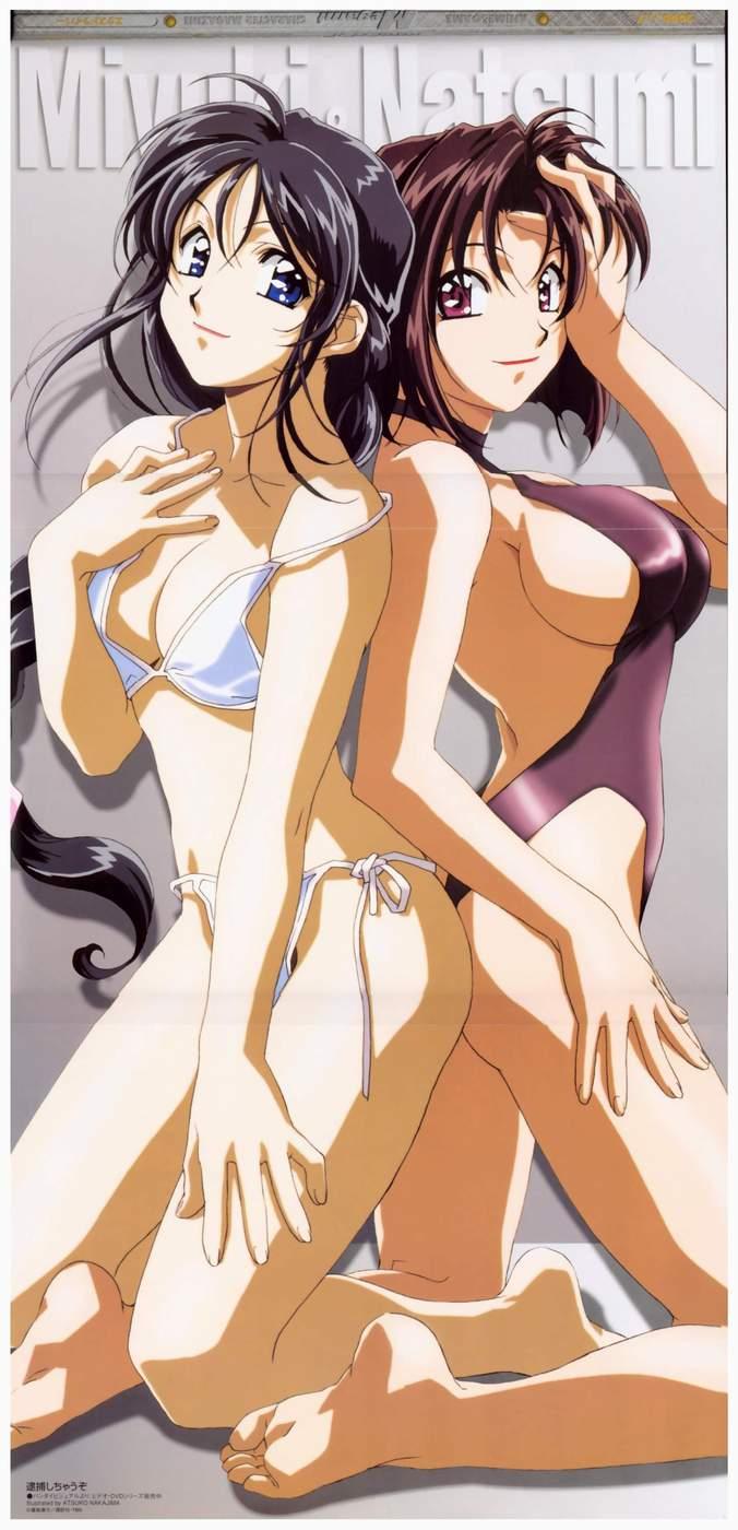 off girl taking bikini anime Darkstalkers jon talbain and felicia
