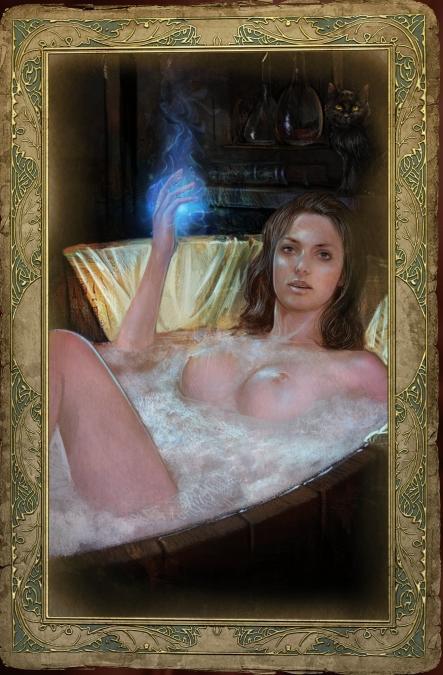 ciri witcher the naked 3 A link between worlds princess zelda