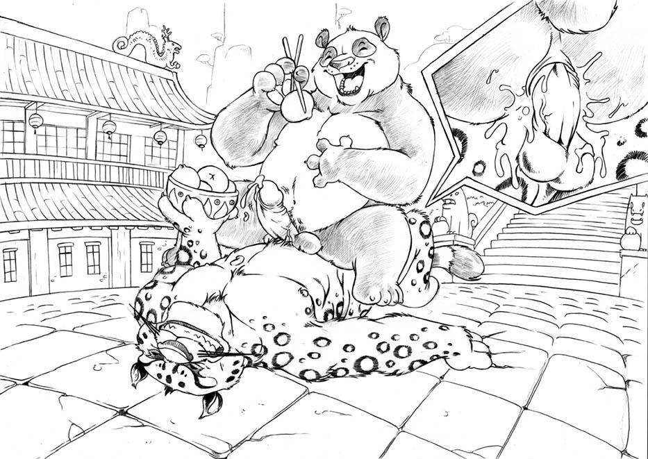 nude tigress panda fu kung Ctrl-alt-del comic