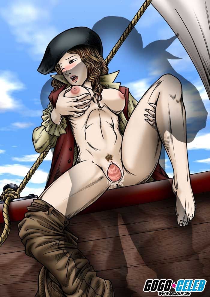 the pirates of cthulhu caribbean Haha_musume_donburi