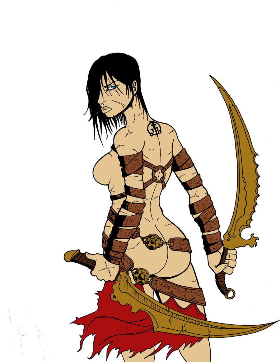persia within prince of dahaka warrior Nico robin time skip dressrosa