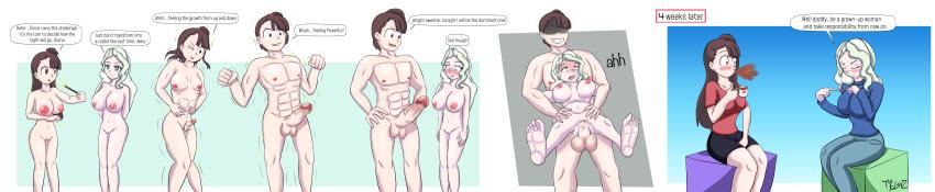 naked tf gender bender tg Yondemasu yo, azazel-san z
