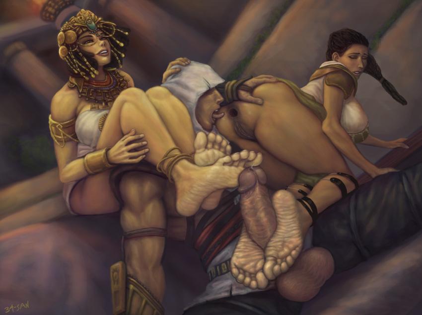 creed cleopatra origins assassin's porn Magical girl raising project