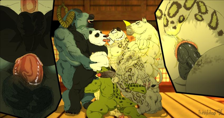 nude fu tigress panda kung Shenzi in the lion king