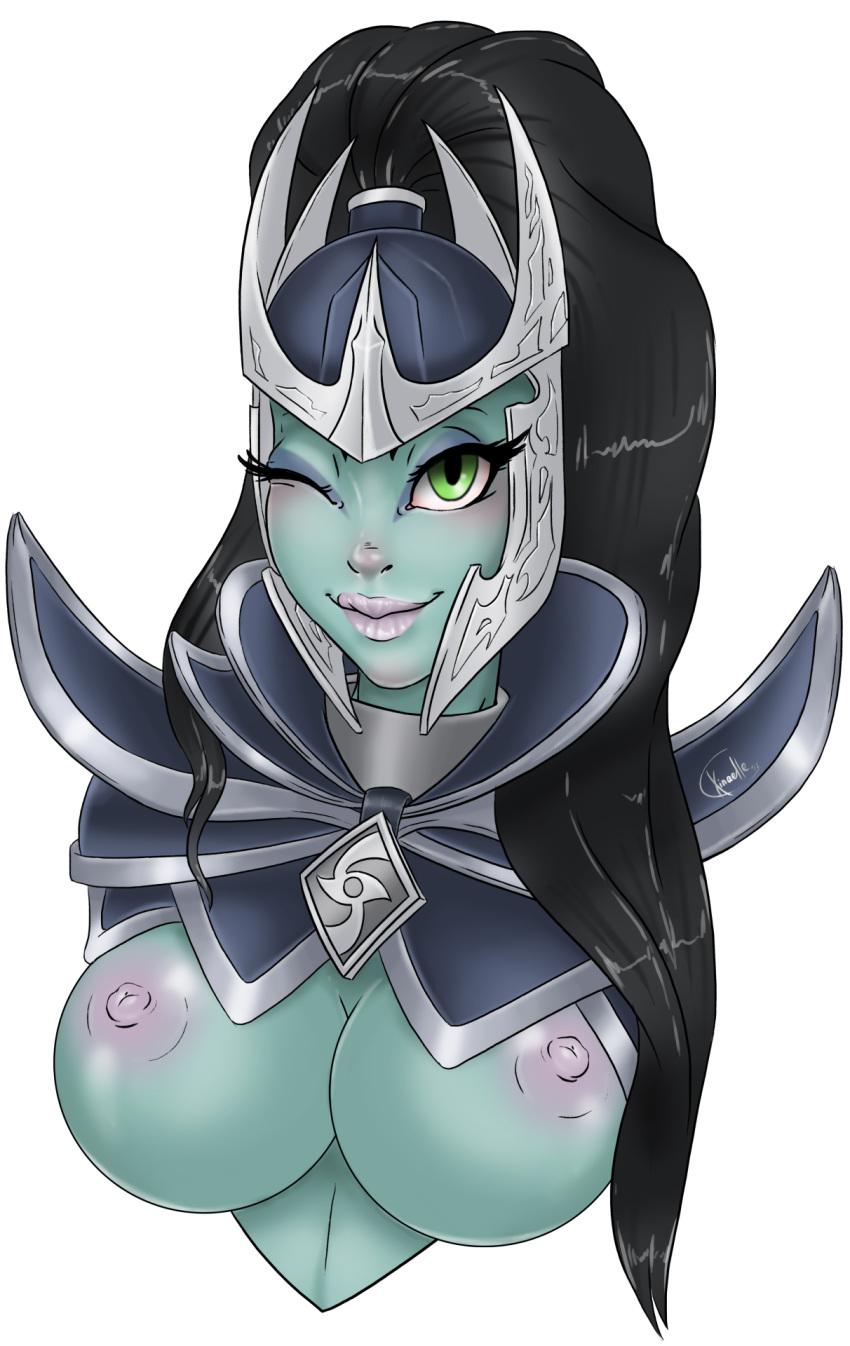 arcana dota assassin 2 phantom Dragon ball chi chi nude