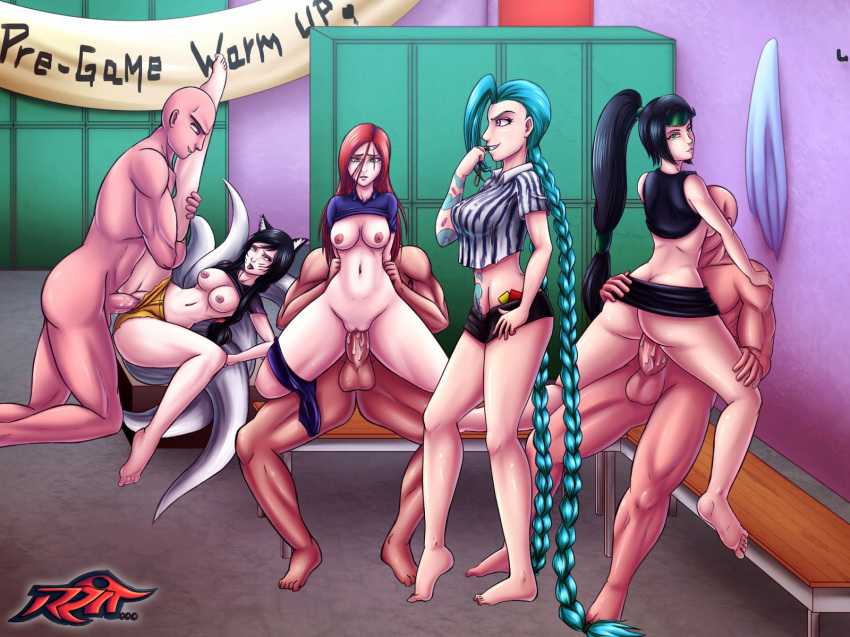 league porn of katarina legends Date a live girls nude