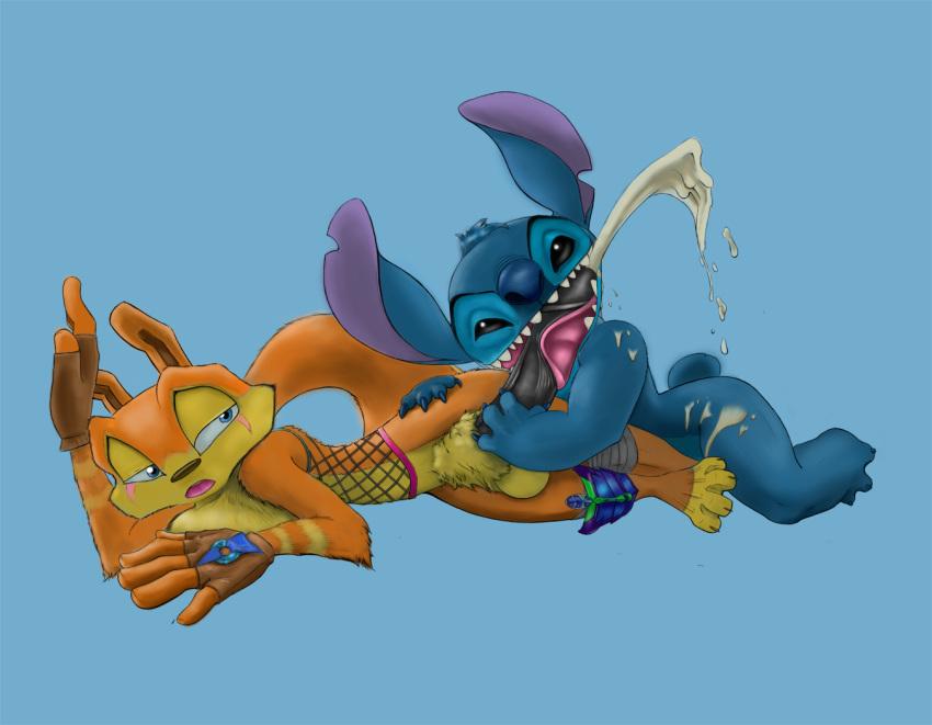 stitch gantu captain lilo and Christie dead or alive 4