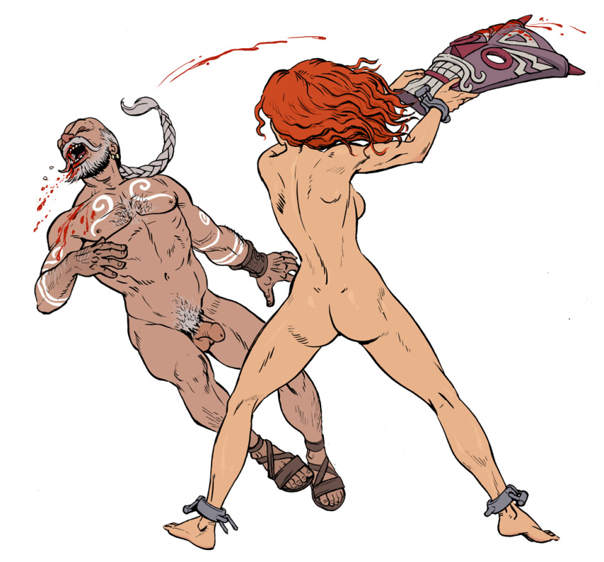 red monika sonja red vs Rider (fate/stay night)