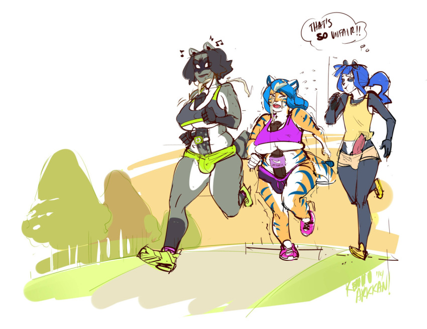 blossom with ruffman fetch ruff Punk girl sun and moon